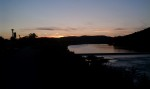 Susquehanna Sunset at Lock Haven