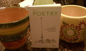 Poetry was giving away. . . well, Poetry!