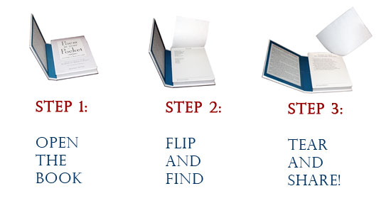 How the book works (photo credit: AbramsBooks.com)