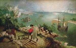 Breughel's Icarus