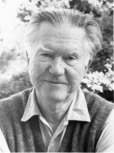 William Stafford (photo by Kim Stafford) Source: Slow Muse