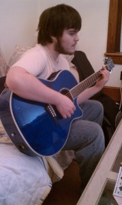 Jon with the Blue Guitar