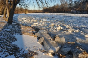 River Ice, by Michael McFarland