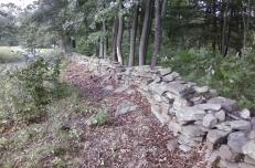 Old wall at Moon Lake