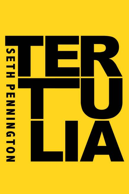 Cover of Tertulia, poetry chapbook by Seth Pennington from Sibling Rivalry Press